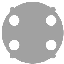 Wallwash Filter (AX3-WWDSK) by Astera LED Technology